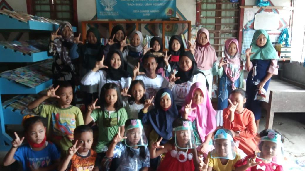 Komunitas Literasi Bintang Aksara dalam menyebarkan semangat literasi